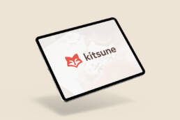 Kitsune Ipad Mockup